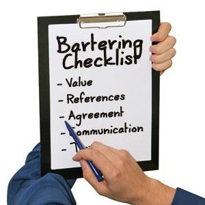 barter checklist