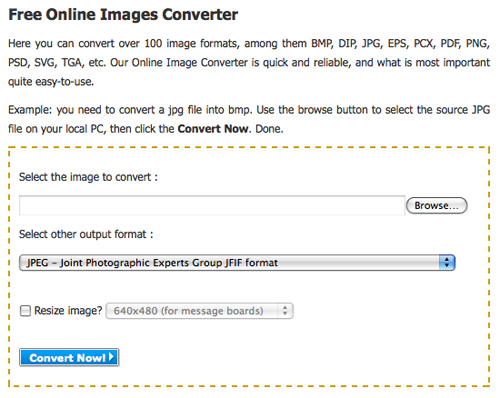 Free Online Images Converter