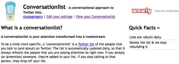 ConversationList