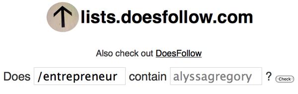 DoesFollow