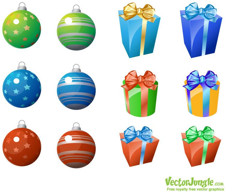 Christmas Gifts Vector Png Vector Jungle Christmas
